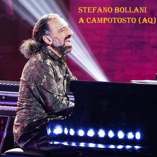 Stefani Bollani al Festival di Abruzzo dal Vivo 2020.