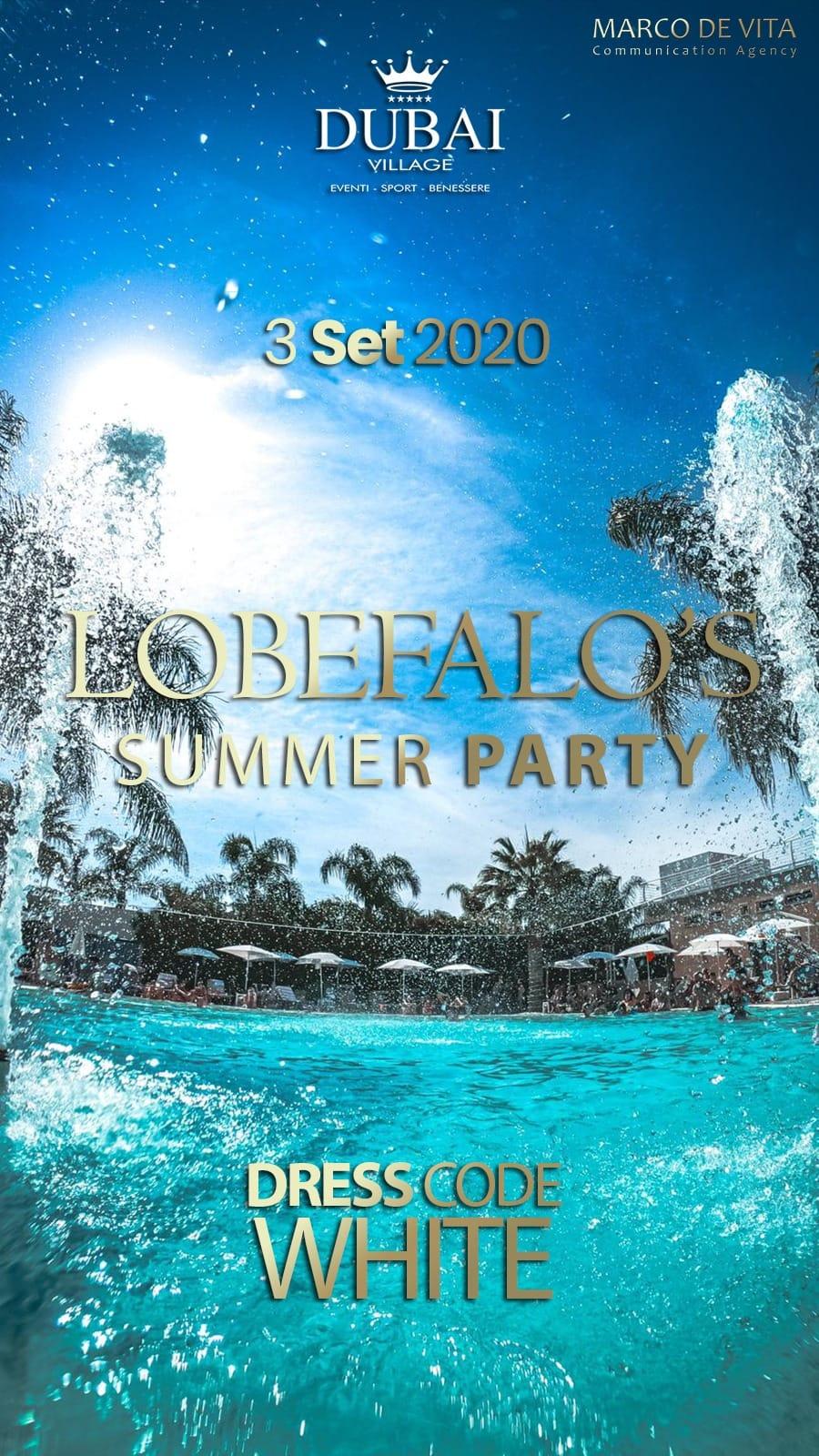 Si comincia a sentire il profumo del Lobefalo's White Party
