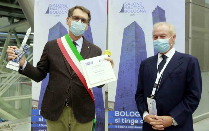 Consegnati gli ambiti riconoscimenti Blue Award   al Salone Nautico di Bologna