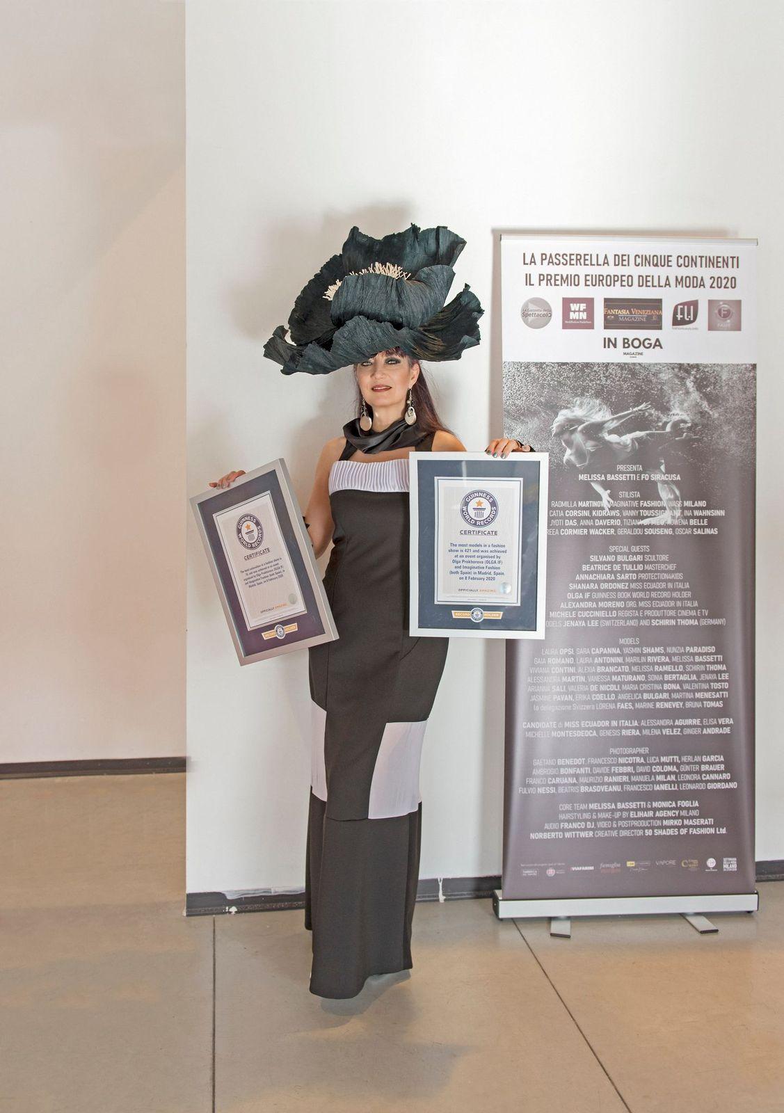 ¡La diseñadora y empresaria española Olga IF desfilara en Cannes film festival! Olga IF gana doble PREMIO EUROPEO DE LA MODA 2020 en Milán