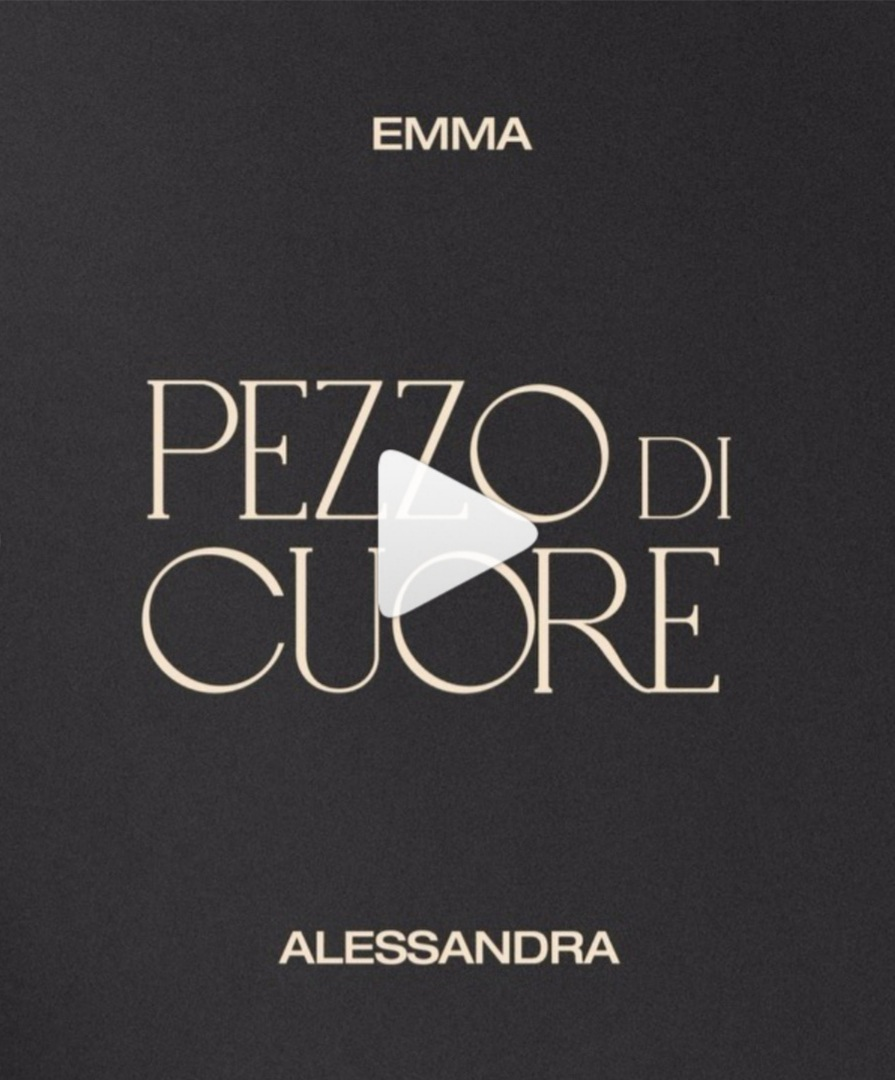 """Alessandra Amoroso ed Emma ensemble in """"pezzo di cuore"""""""