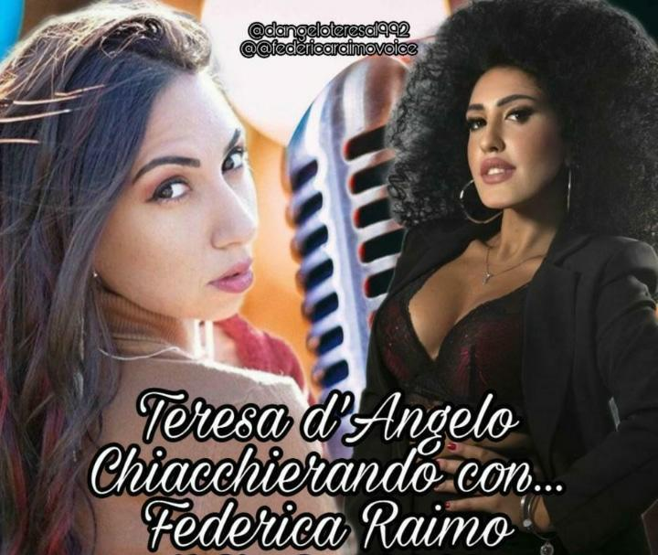 Tra i suoi riccioli e la sua bellezza mediterranea la giovane cantante Federica Raimo si racconta
