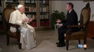 L'intervista a Papa Francesco al Tg5 - Promo | Mediaset Play
