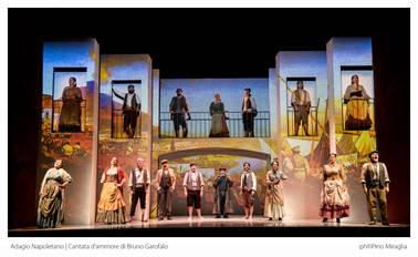 """Strepitoso successo assoluto al Teatro Trianon per l'anteprima assoluta di """"Adagio Napoletano"""""""
