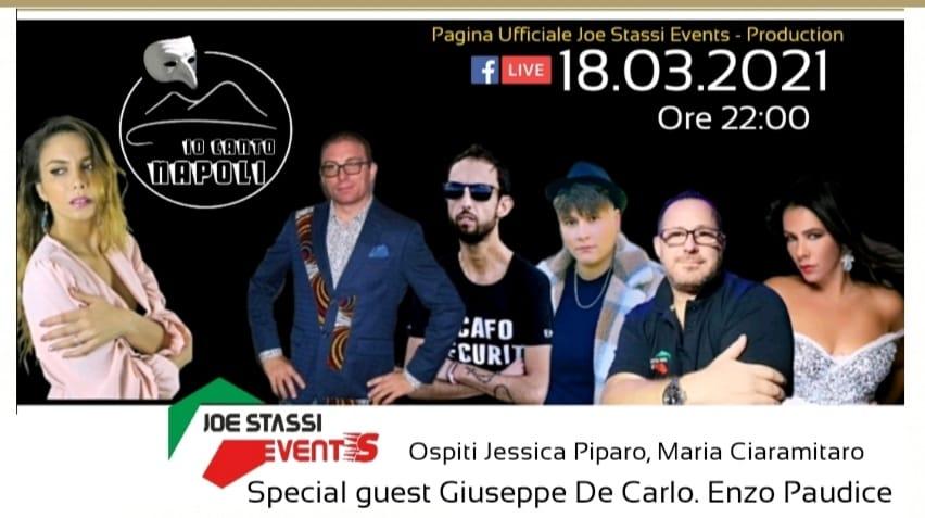 """""""Io Canto Napoli""""- Il nuovo format targato Joe Stassi"""