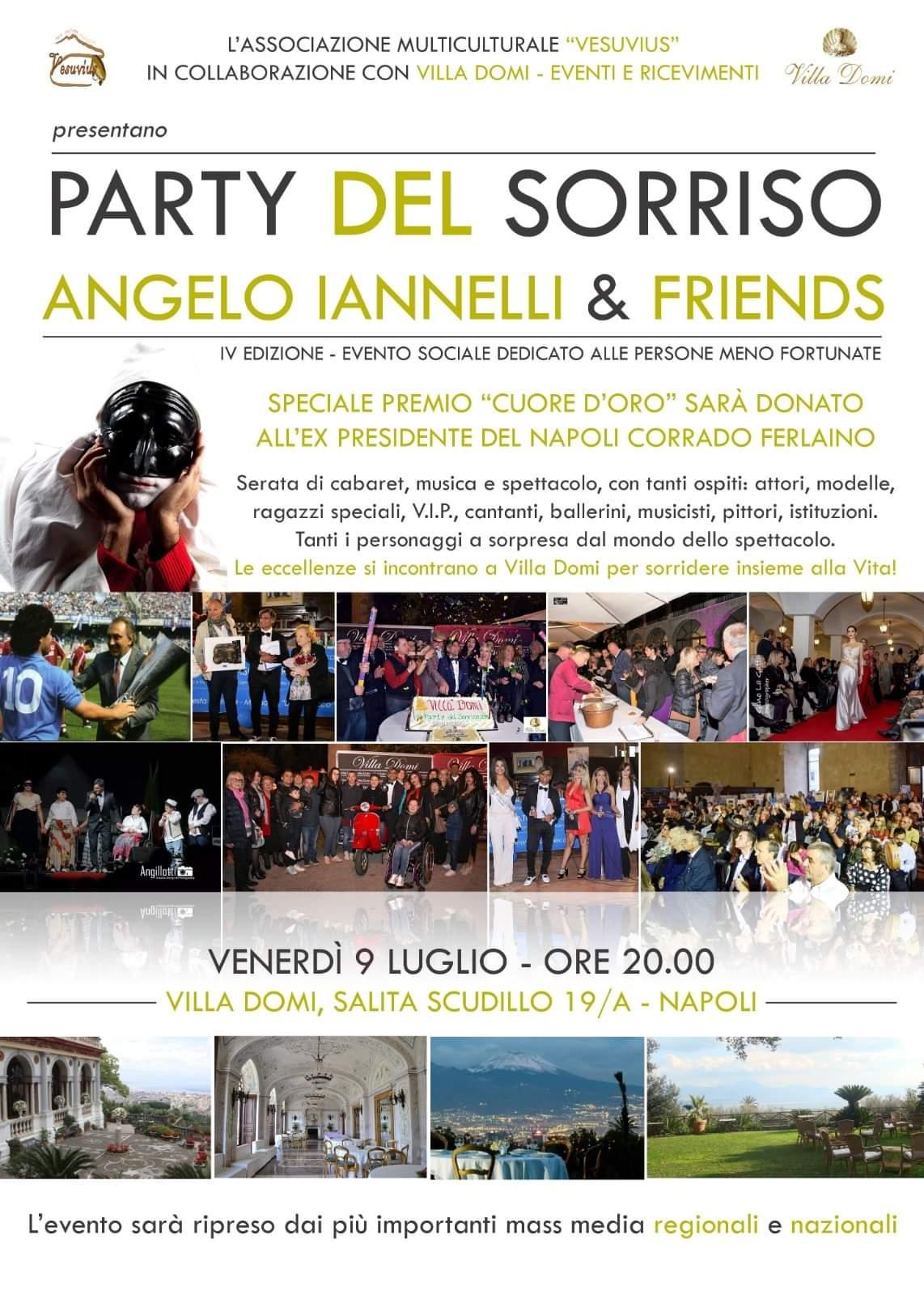 A Villa Domi evento solidale dedicato ai meno fortunati: Party del Sorriso