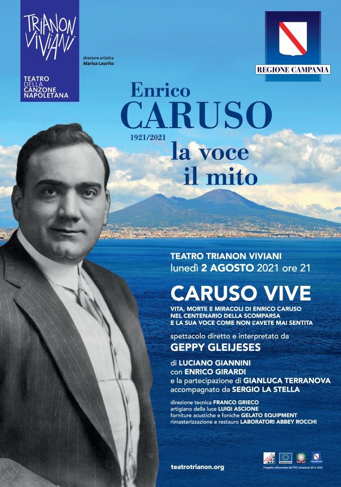 """""""Caruso vive"""" nel racconto di Geppy Gleijeses al Trianon Viviani"""