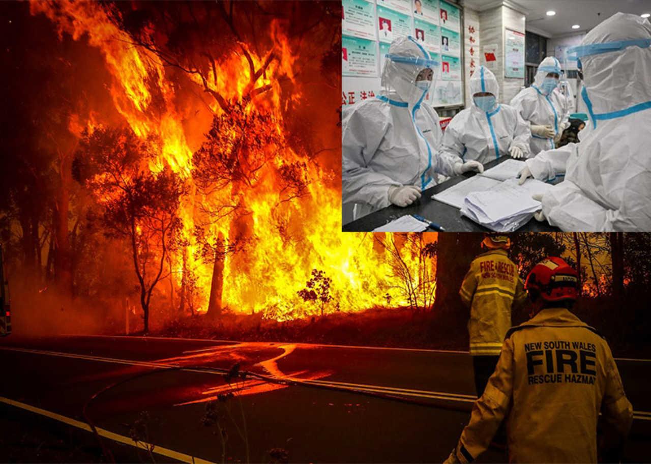 Forse correlazione perfetta tra incendi e Covid