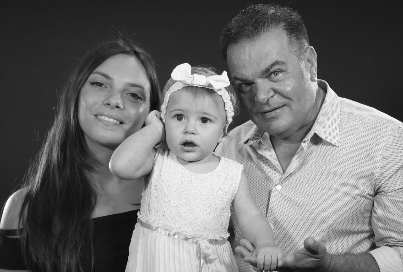Suggestivo battesimo della figlia di Miriam D'Amico e Gino Cocciardo: Giuliana Desirè