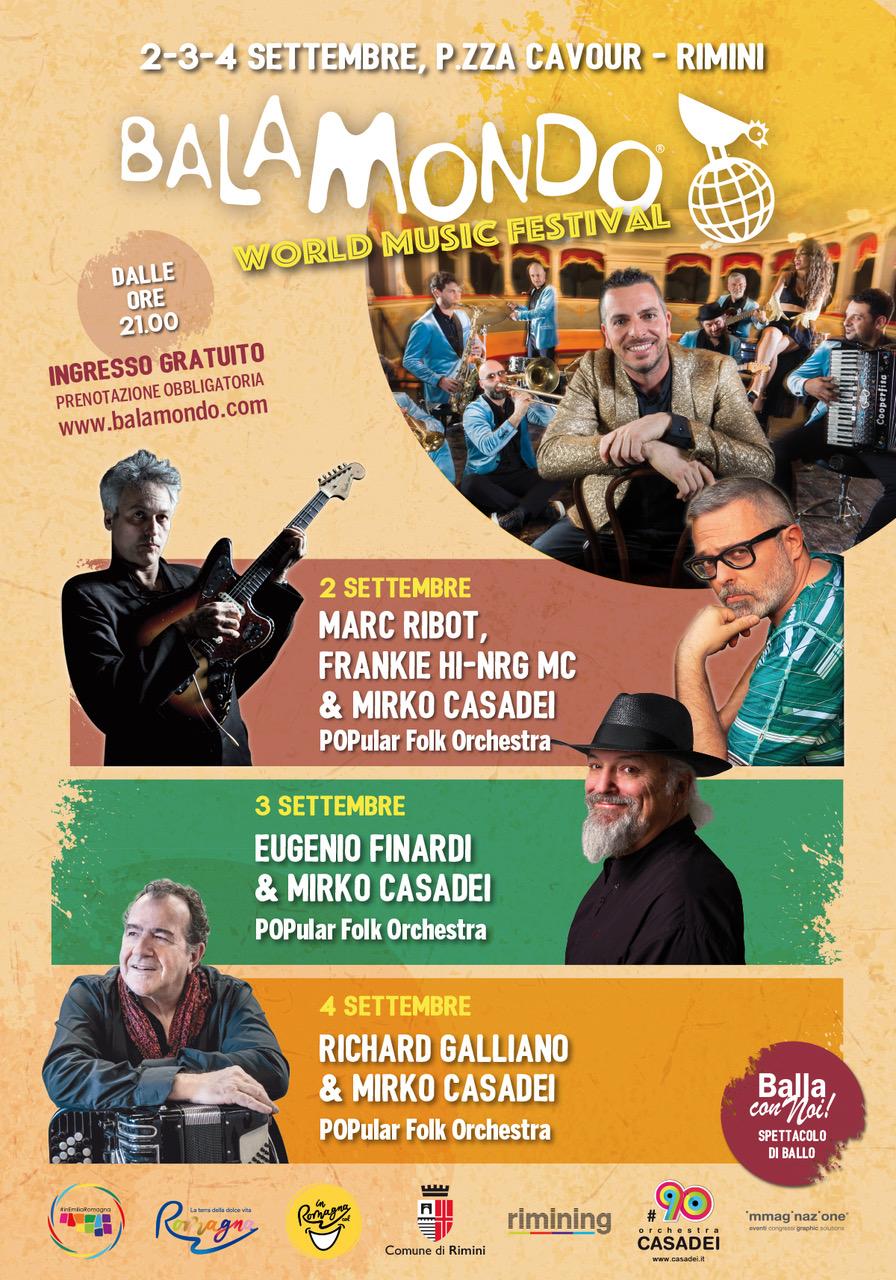 Quinta edizione del Balamondo World Music Festival