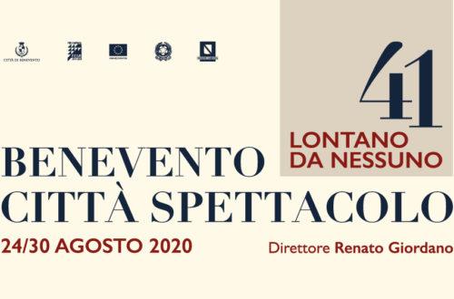 """La 41°edizione del Festival """"Benevento Città Spettacolo"""" 2020"""