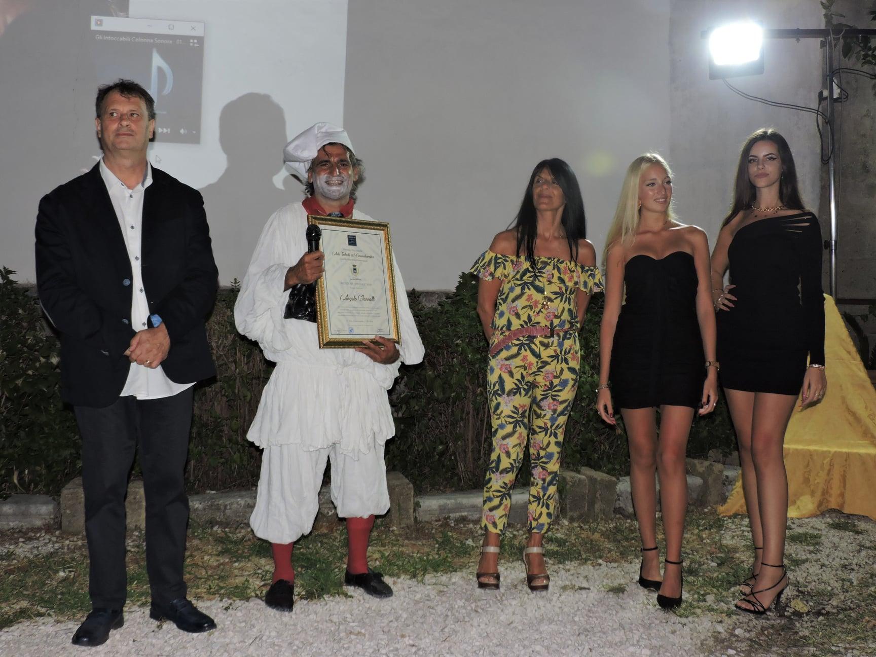 Premio Nazionale Arte Teatrale & Cinematografica conferito a Angelo Iannelli