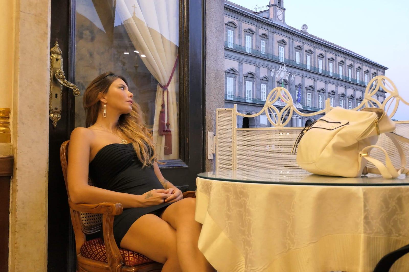 Hair e make-up di Miry D'Amico al Lobefalo's Summer White Party 2020 targati Coiffeur Nazife Krivca