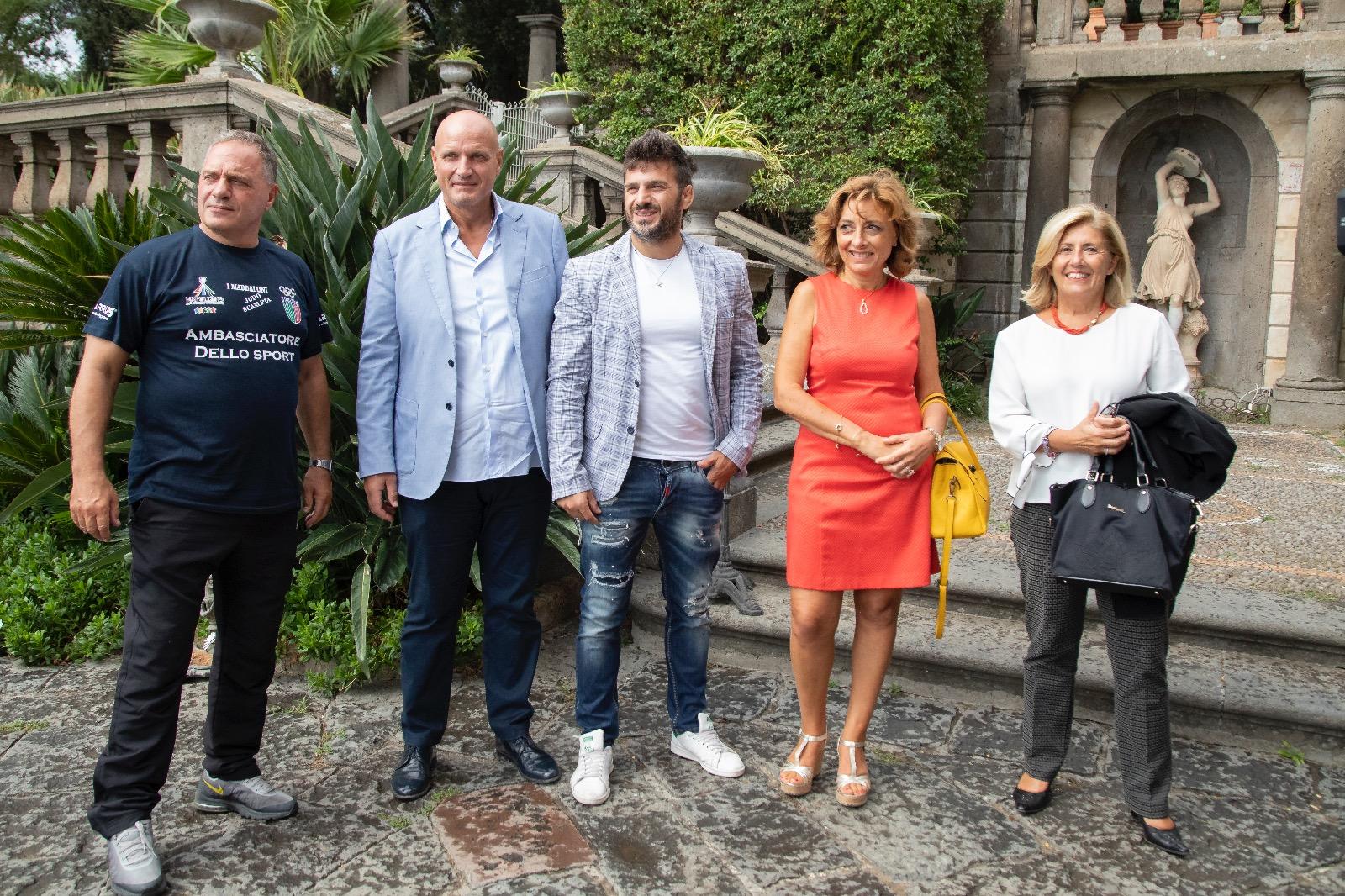 """Grandi emozioni di solidarietà alla presentazione de """"Marco Maddaloni Charity"""""""