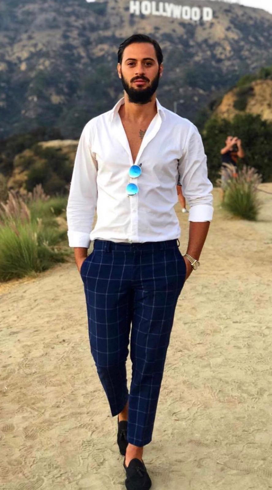 Il vulcanico attore Fabio Toscano che dalla sua Napoli è arrivato fino a Hollywood