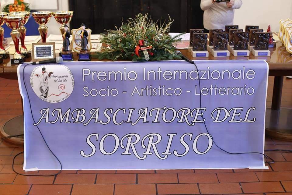 """Un Viaggio nella storia del prestigioso Premio """"Ambasciatore del Sorriso"""""""