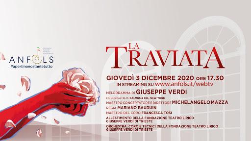 """Il Teatro Verdi presenta """"La Traviata"""", in streaming"""