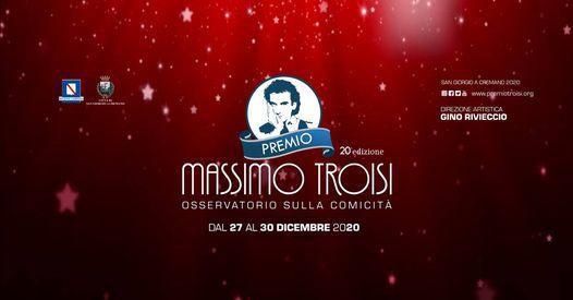 """Strepitoso successo della prima esperienza online del """"Premio Massimo Troisi"""""""