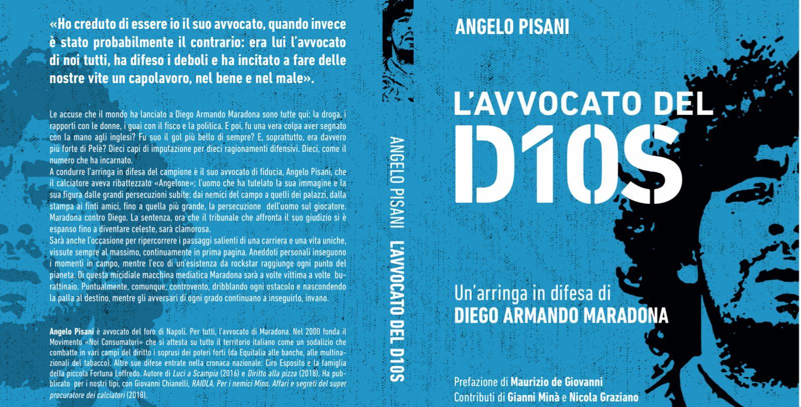 """Esce il libro """"L'avvocato del D1OS"""" di Angelo Pisani"""