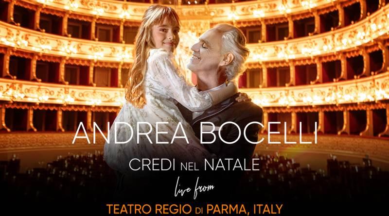 """Believe in Christmas"" in esclusiva dal Teatro Regio di Parma"