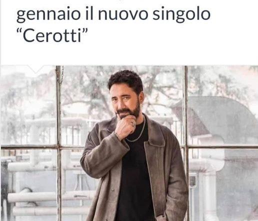 """Dal 8 gennaio il nuovo singolo """"Cerotti"""" di Tiromancino"""