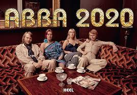 Il quartetto svedese degli Abba sul palco del Festival di  Sanremo