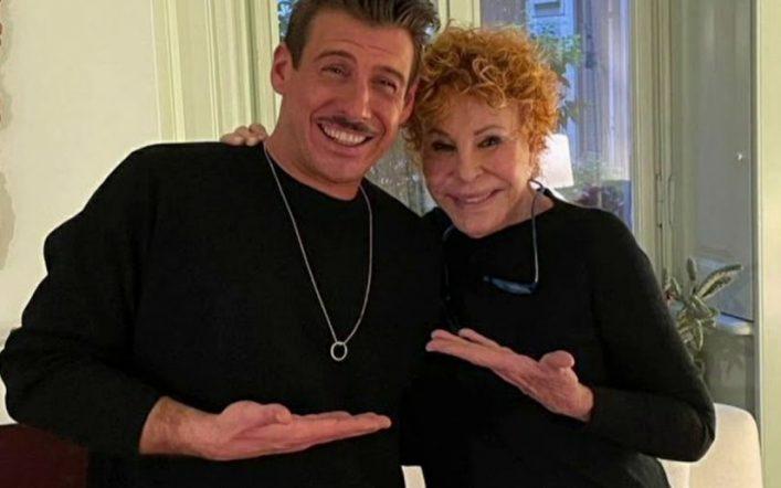 Gabbani e Vanoni, un duetto esplosivo, nella serata finale di Sanremo