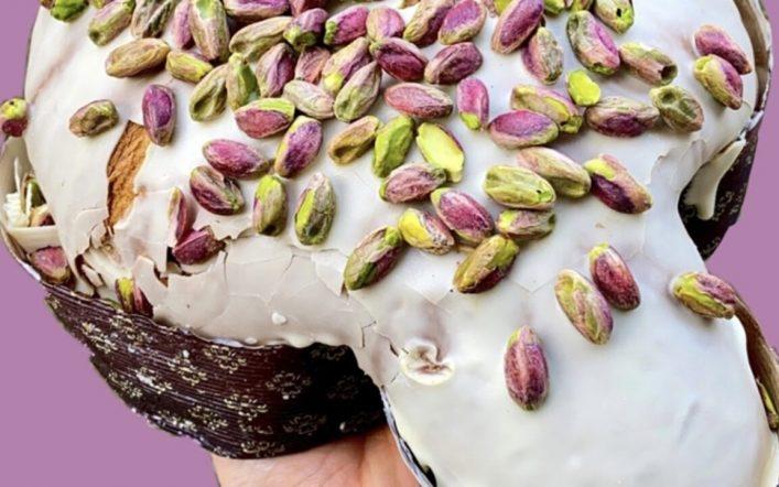 La novità della colomba al pistacchio a km zero targata Bonfissuto