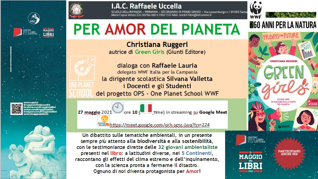 """La diretta online: """"Per Amor del Pianeta"""""""