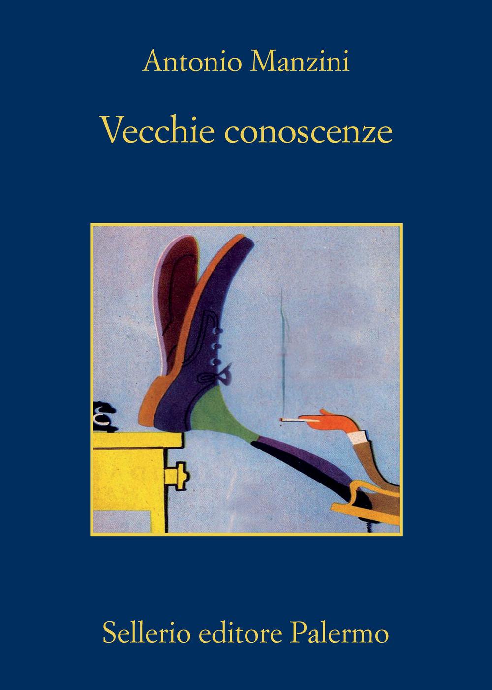 """Il nuovo libro di Antonio Manzini: """"Vecchie Conoscenze"""""""