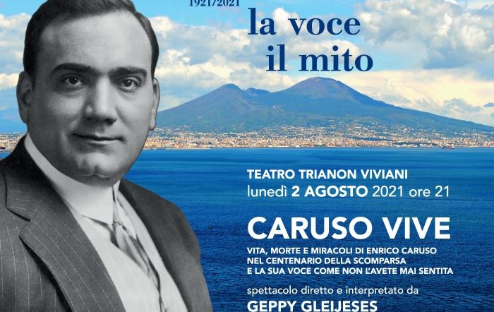 """Trianon Viviani, """"Caruso vive"""" nel mondo in diretta sul web"""