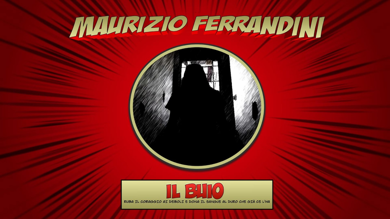 """L'estate di Ferrandini si tinge di Horror-rock con la struggente canzone """"Il buio"""""""