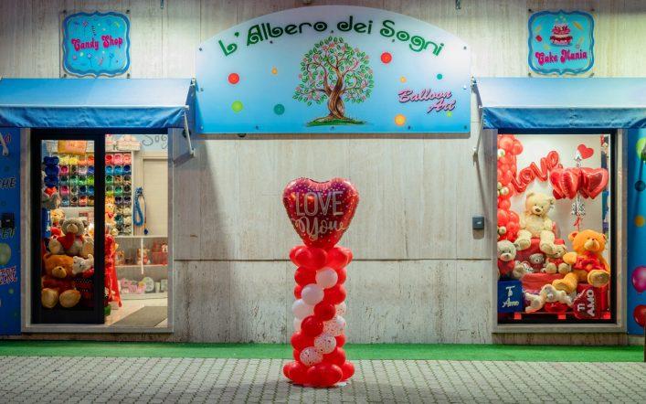 Balloon's Art da sogno all'Albero dei Sogni Store